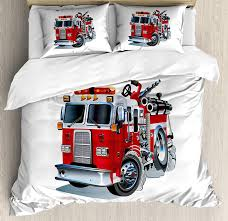 100 Fire Truck Bedding Amazoncom Sets Brigade Vehicle Emergency Aid
