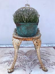 chaise pot b b a 19th c small copper pot with verdigris decorative collective