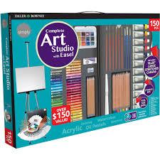 Step2 Art Easel Desk by Simply 150 Piece Complete Art Easel Studio Set Over 150 Value