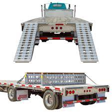 2-Bunk Load Leveler Step Deck Truck Trailer 96