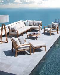 canapé de jardin design salon de jardin design nos 12 modèles préférés côté maison