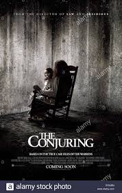 ROCKING CHAIR & DOLL POSTER THE CONJURING (2013 Stock Photo ...
