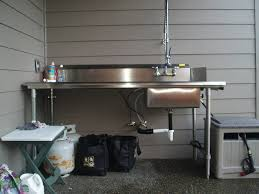 Fish Cleaning Table With Sink Bass Pro by Fish Cleaning Station Plans Pictures Or Ideas Www Ifish Net