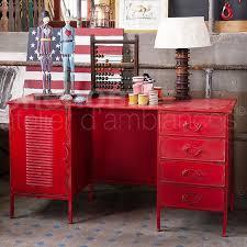 bureau m騁allique industriel bureau en métal chehoma style industriel magasin de déco