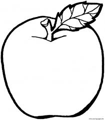 Apple Fruit S For Kids14b4 Coloring Pages