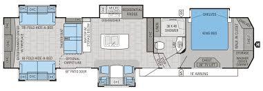 Jayco Fifth Wheel Floor Plans 2018 by 2016 Jayco Designer 39re New T36234