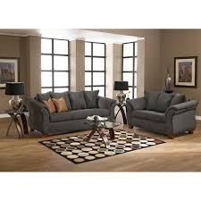 Milari Sofa And Loveseat by Adrian Sofa Graphite American Signature Furniture