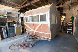 100 Restored Retro Campers For Sale EXCHANGE Mattoon Business Rebuilds Vintage Campers