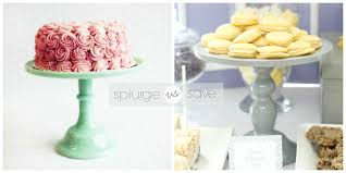 DIY Milk Glass Cake Stand Parties for Pennies