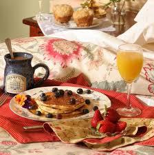 breakfast in bed Hadley Court Interior Design Blog