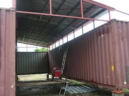 Shipping Container House Panama   A Shipping Container House In ... Foundation Options For Fabric Buildings Alaska Structures Shipping Container Barn In Pictures Youtube Standalone Storage Versus Leanto Attached To A Barn Shop Or Baby Nursery Home With Basement Home Basement Container Workshop Ideas 12 Surprising Uses For Containers That Will Blow Your Making Out Of Shipping Containers Any Page 2 7 Great Storage Raising The Roof Tin Can Cabin Barns Northern Sheds Fort St John British Columbia Camouflaged Cedar Lattice Hidden