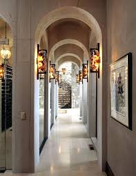 hallway wall light fixtures and ls ideas with basement