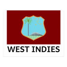 West Indies Flag Postcard
