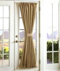 Front Door Side Window Curtain Rods by Door Design Front Door Panel Curtains Side Sidelight Delight