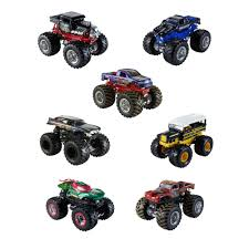 100 Monster Jam Trucks Toys Hot Wheels 164 Scale Vehicle Styles May Vary