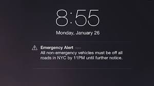 A Brief History Emergency Alerts Your Phone