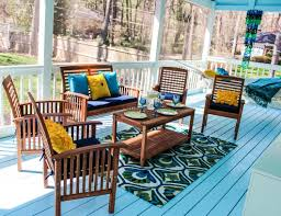 Screened In Porch Decorating Ideas And Photos by Back Porch Decorating Ideas Pier 1 Happily Hughes