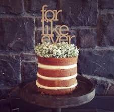 A Naked Cake And Wood Tin Stand My Sweet Event Vintage Hire In Melbourne