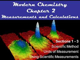 modern chemistry chapter 2 measurements and calculations ppt