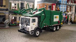 First Gear Mack MR Wittke Superduty Front Load Garbage Truck - YouTube
