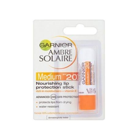 Ambre Solaire Lip Balm Sun Protection Stick - SPF 20, 4.7ml