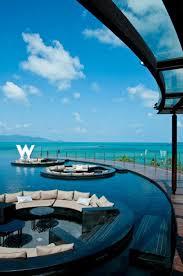 100 W Hotel Koh Samui Thailand RETREAT KOH SAMUI Ko Here Is Paradise