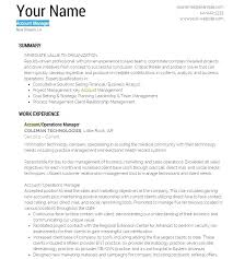 Account Manager Cover Letter Sample Accounting Resume Template