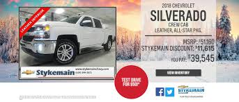 Stykemain Chevrolet: Car Dealership In Paulding OH | Near Fort Wayne IN Larry H Miller Chevrolet Murray New Used Car Truck Dealer Laura Buick Gmc Of Sullivan Franklin Crawford County Folsom Sacramento Chevy In Roseville Tom Light Bryan Tx Serving Brenham And See Special Prices Deals Available Today At Selman Orange Allnew 2019 Silverado 1500 Pickup Full Size Lamb Prescott Az Flagstaff Chino Valley Courtesy Phoenix L Near Gndale Scottsdale Jim Turner Waco Dealer Mcgregor Tituswill Cadillac Olympia Auto Mall