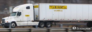 Discrimination Settlement Reached With U.S. Trucking Giant - Sikh ... Jb Hunt Driving Jobs Apply In 30 Seconds The Trucking Track Transport Truckers Agree To 15m Settlement Over Wage School Brown Puma Raider Express Home Facebook Jbi Southeast Region Jb Matds Instructors Carriers States Team On Felon Cdl Traing Programs Topics This Is The Bluecollar Student Debt Trap Bloomberg Ft