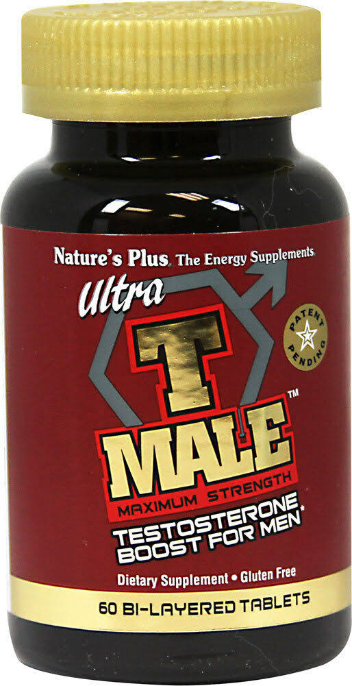 Nature's Plus Ultra T Male - 60 Bi-Layered Tablets