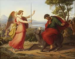 Balaam And The Angel Painting From Gustav Jaeger 1836