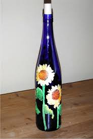 Decorative Wine Bottles Crafts by 39 Best Bottles Images On Pinterest Painted Bottles Decorated