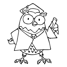 Download Coloring Pages Graduation To And Print For Free