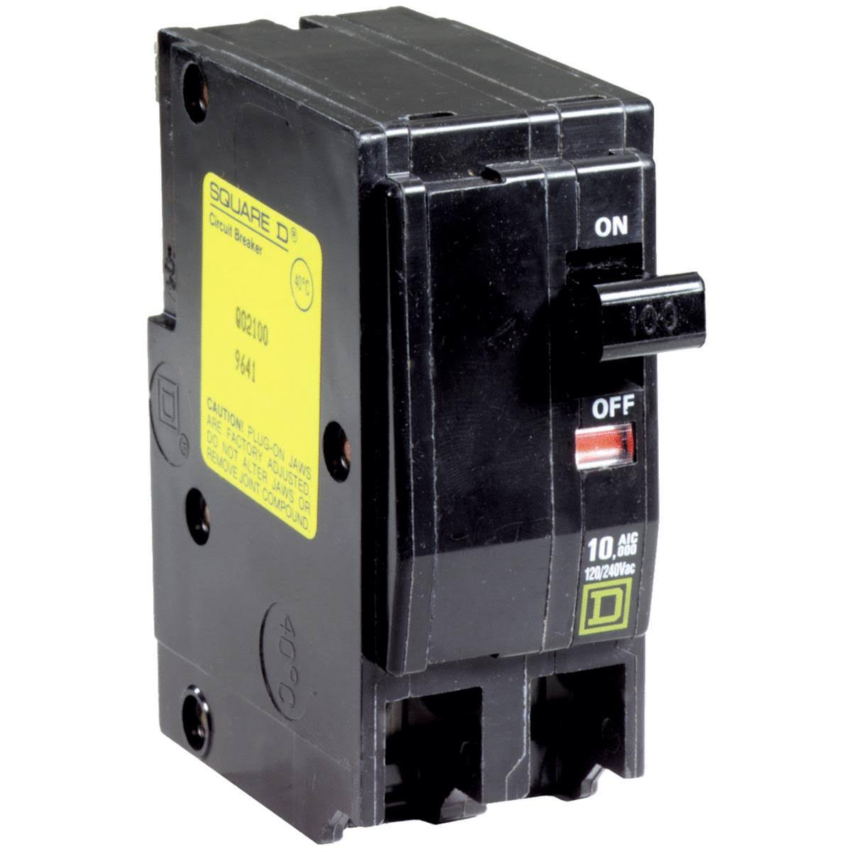 Square D Circuit Breaker - 100 Amp, 2 pole