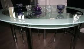 glastisch esstisch oval 160x80 cm gebraucht eur 30 00