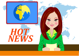 Svg Library Cartoon Graphic Design Television Icon Anchor Banner Royalty Free News Clipart
