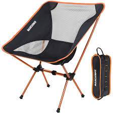 Galleon - MARCHWAY Ultralight Folding Camping Chair, Portable ... 22x28inch Outdoor Folding Camping Chair Canvas Recliners American Lweight Durable And Compact Burnt Orange Gray Campsite Products Pinterest Rainbow Modernica Props Lixada Portable Ultralight Adjustable Height Chairs Mec Stool Seat For Fishing Festival Amazoncom Alpha Camp Black Beach Captains Highlander Traquair Camp Sale Online Ebay