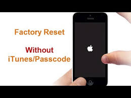 Factory Reset iPhone 7 without Passcode iTunes