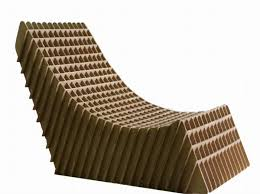 Cardboard Chair Via Youtube Brusspup Nomadic Furniture DMA Homes