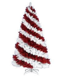 Pre Lit Flocked Christmas Tree Uk by Candy Cane Christmas Trees Online Treetopia