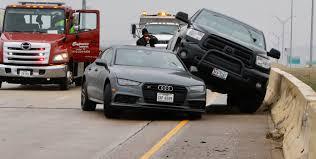 100 Dallas Truck Center Icy Conditions Lead To Hazardous Roads Dozens Of Wrecks In