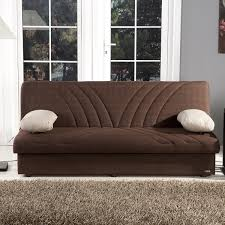 Max Naturale Brown Convertible Sofa Bed By Istikbal Furniture