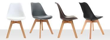 chaise cuisine design pas cher chaise design et confortable pour salon et cuisine miliboo