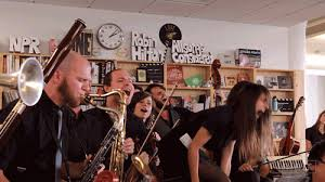 Macklemore Tiny Desk Concert by Screaming Big Band Gif By Npr Find On Giphy