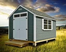 10—10 Storage Shed Plans & Blueprints For Gable Shed