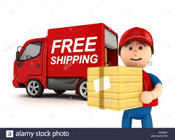 3D Courier Man With