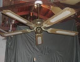 hton bay five blade landmark ceiling fan model ac 552