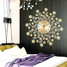 Decorative Clocks For Living Room Walls Unique Design Wall On Stunning
