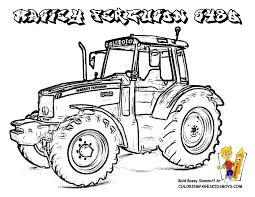 Coloriages Tracteur À Imprimer En Tribu Serapportantà Coloriage De