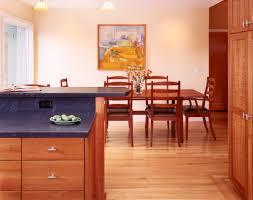 Custom Cherry Wood Cabinets Craftsman Kitchen